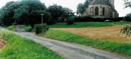 De Liebefrauenkirche in Unterriexingen
