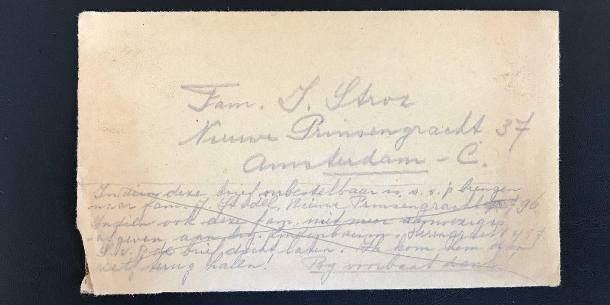 45-05-07 Brief 1 enveloppe voorzijde